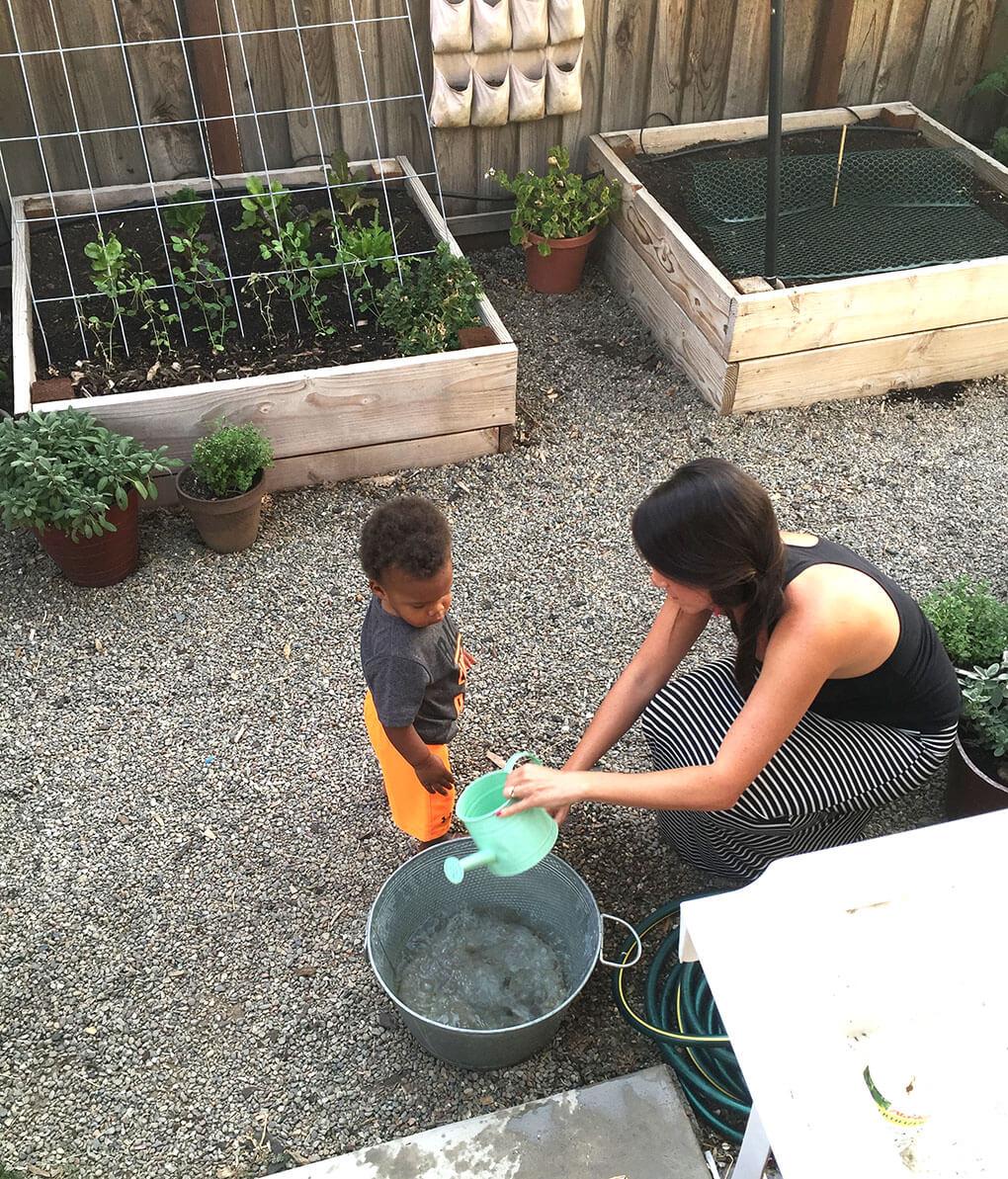 Planter Boxes and Babies sarahkayhoffman.com Isaiah and Tiara