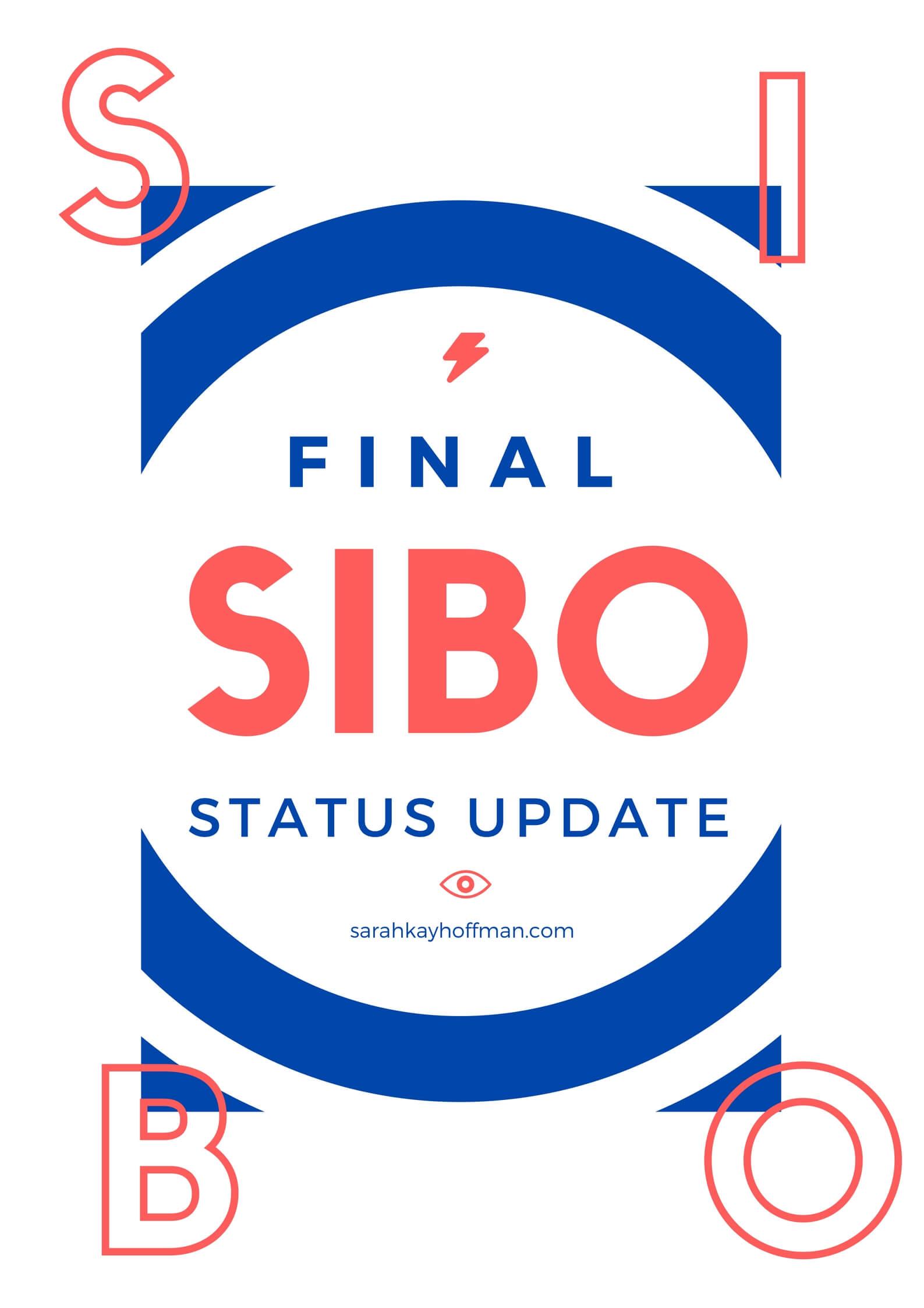 SIBO Status Update via sarahkayhoffman.com