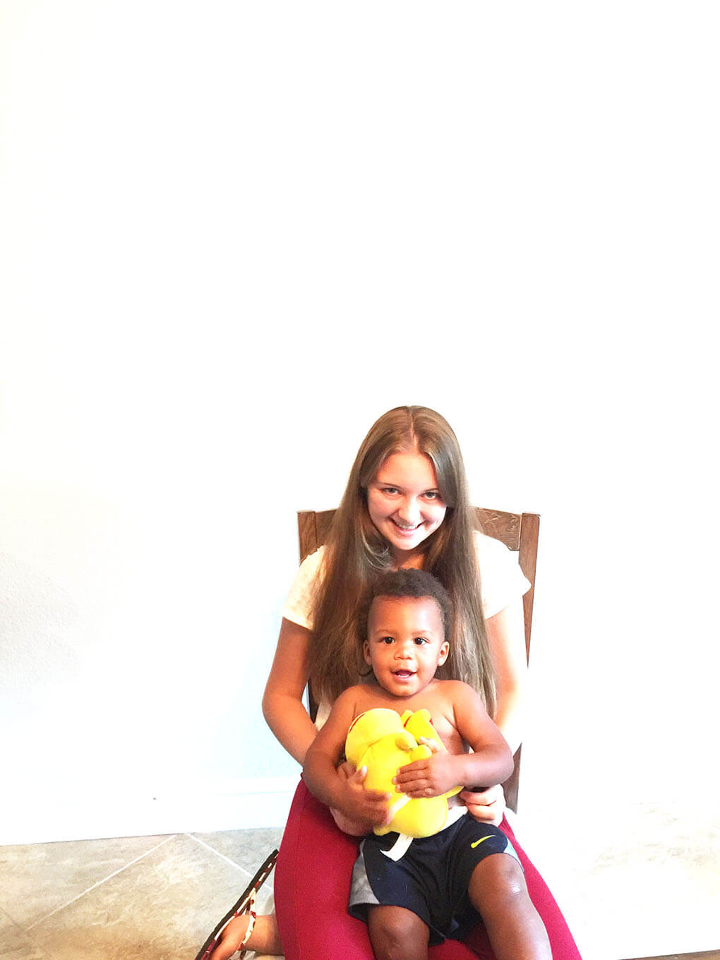 Being Curious Makes You Richer sarahkayhoffman.com Cecilia and Isaiah