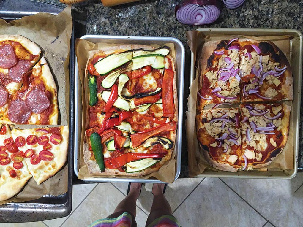 Being Curious Makes You Richer sarahkayhoffman.com Homemade Italian Pizza