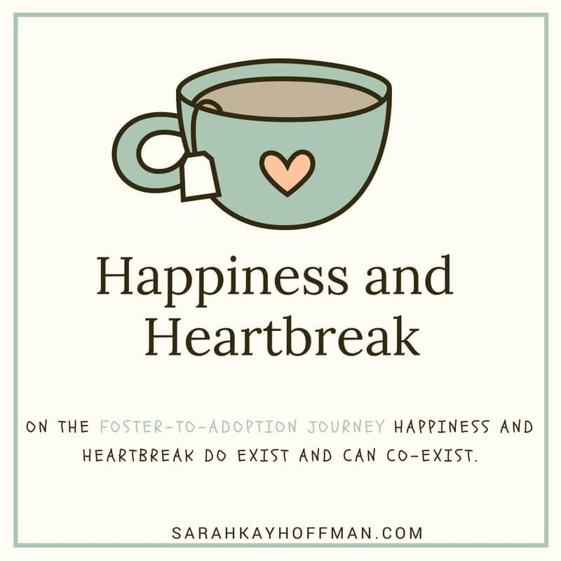 Happiness and Heartbreak sarahkayhoffman.com Foster-to-Adoption Adoption Foster