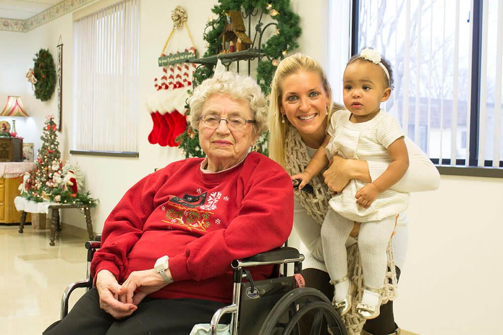 Jesus Loves You So Do I Grandma Verna, Sarah Kay Hoffman, Samarah Josephina Christmas 2014 sarahkayhoffman.com