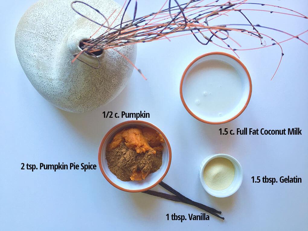 Pumpkin Pie Pudding sarahkayhoffman.com Ingredients Dairy Free