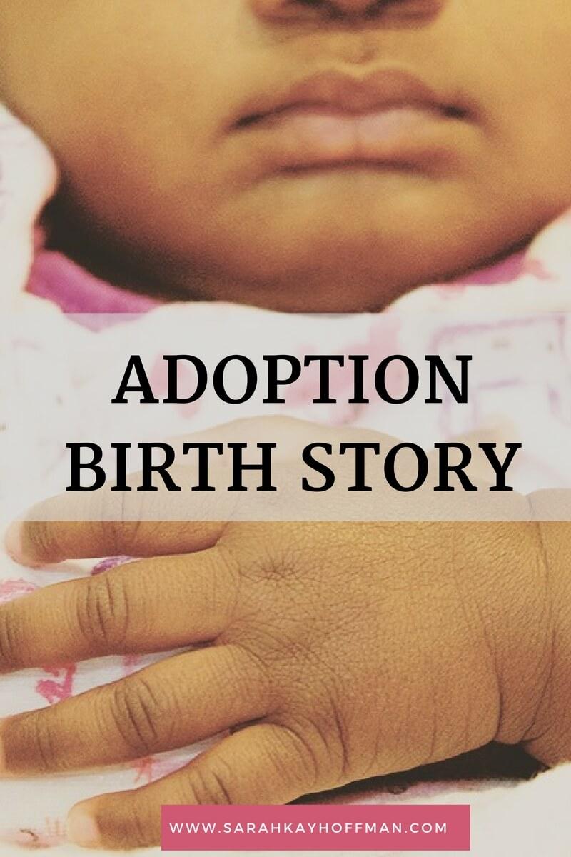 Adoption Birth Story sarahkayhoffman.com
