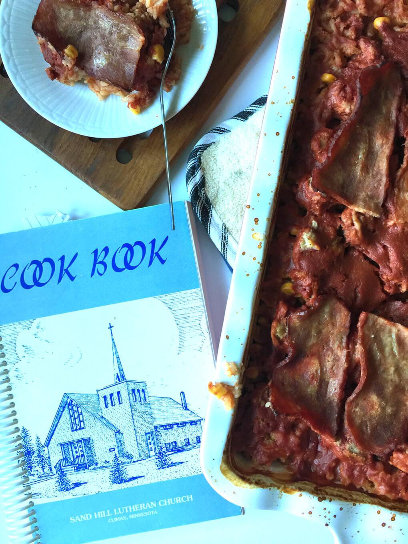 Seven Layer Casserole sarahkayhoffman.com Gluten Free