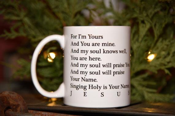 23 Adoption and Faith Holiday Gift Ideas sarahkayhoffman.com Faith Coffee Cup