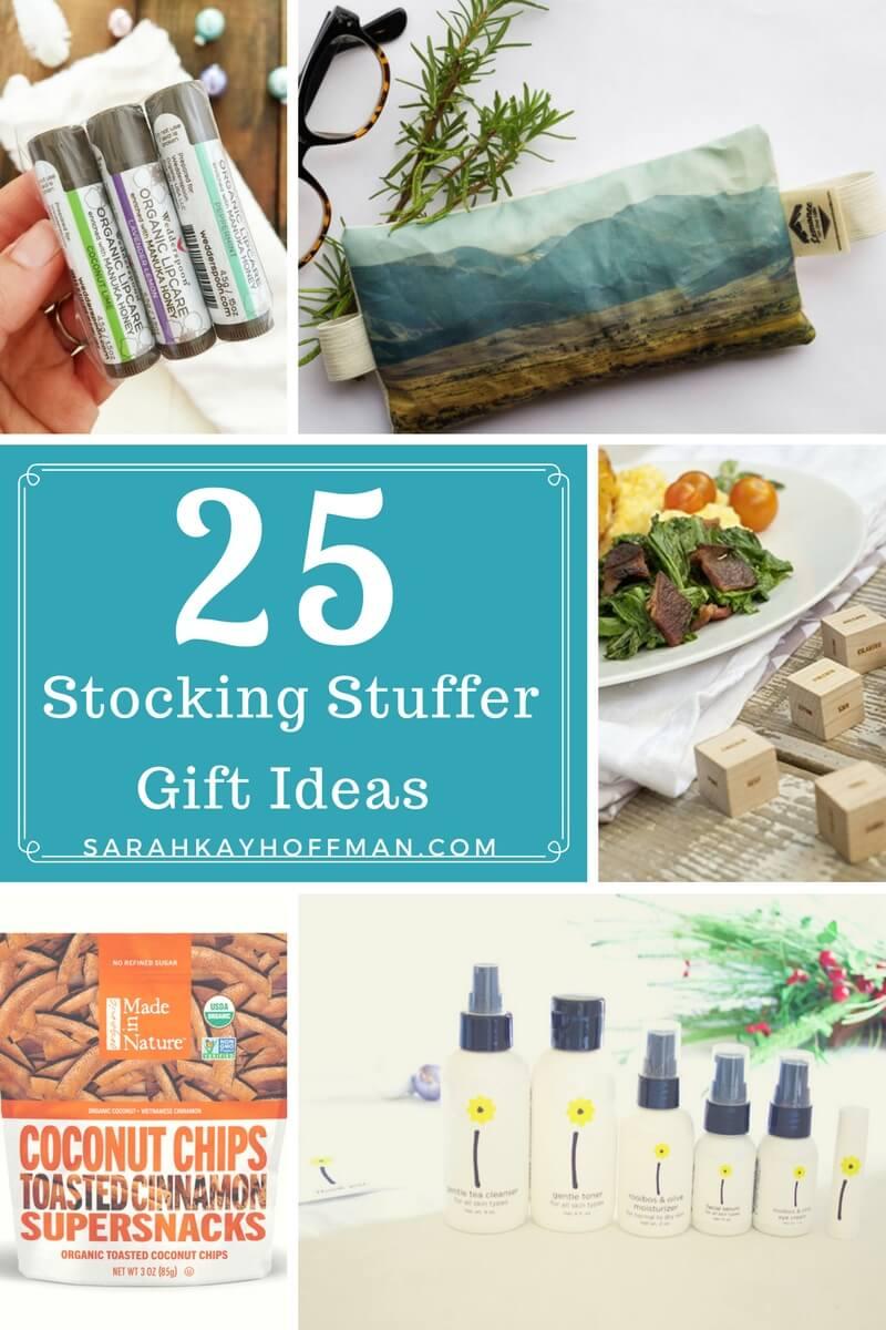 25 Stocking Stuffer Gift Ideas sarahkayhoffman.com