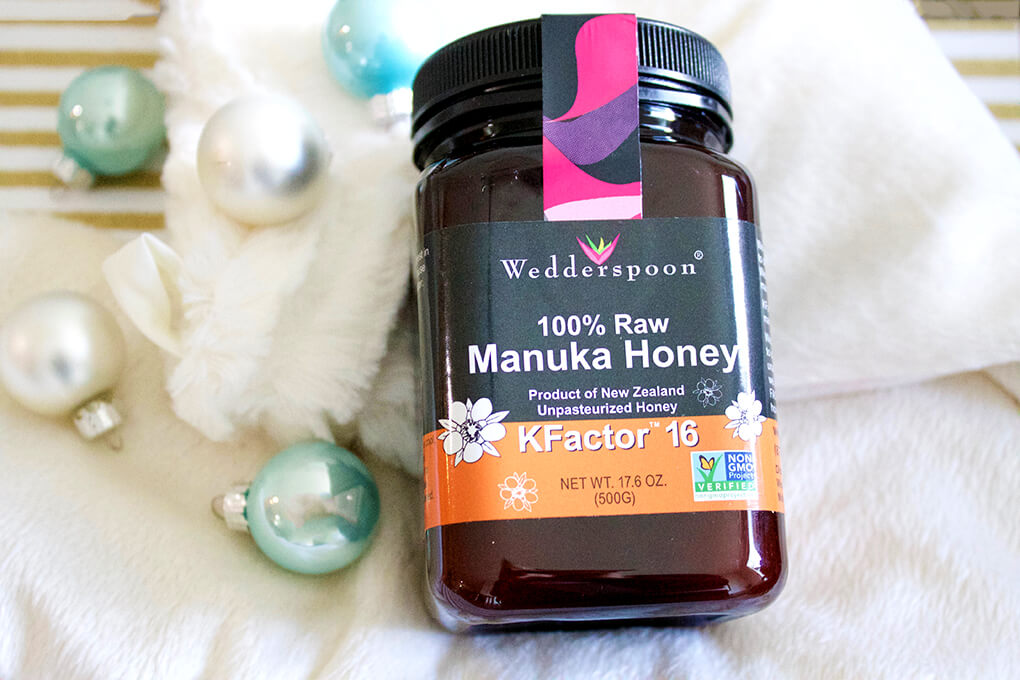32 Lifestyle Holiday Gift Ideas sarahkayhoffman.com Wedderspoon Manuka Honey