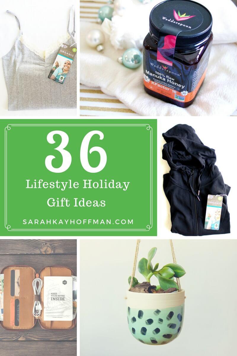 36 Lifestyle Holiday Gift Ideas sarahkayhoffman.com