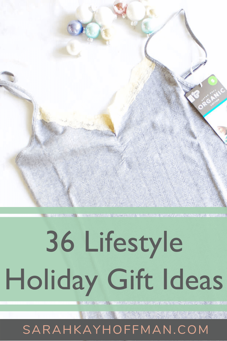 36 Lifestyle Holiday Gift Ideas www.sarahkayhoffman.com #holiday #gifts #lifestyle #healthyliving