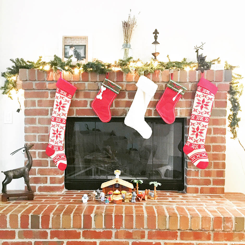 Almost Thanksgiving Update sarahkayhoffman.com Fireplace Christmas Decorations
