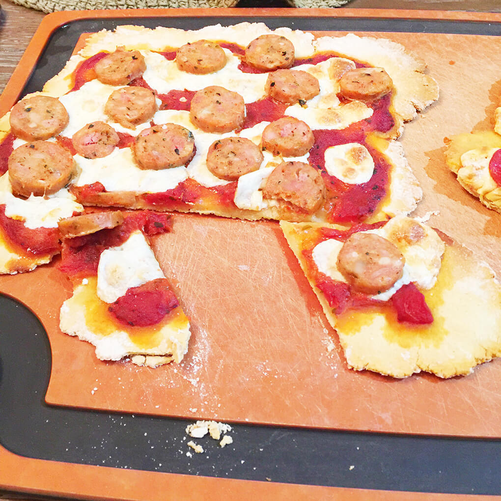 Time Flies sarahkayhoffman.com Ceci's Homeamade Gluten Free Pizza Crust
