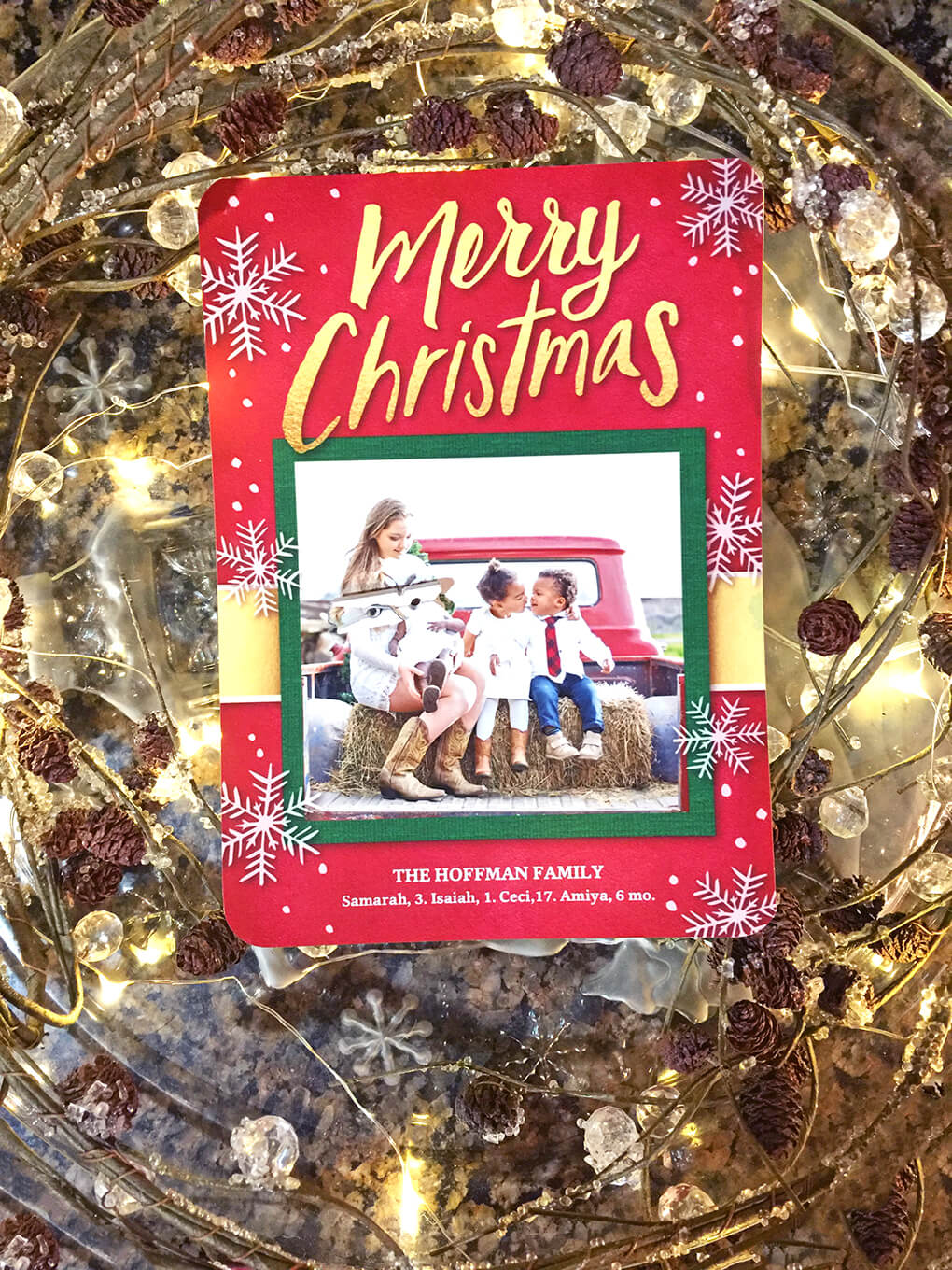 2016 Christmas Pictures sarahkayhoffman.com Shutterfly Christmas Card