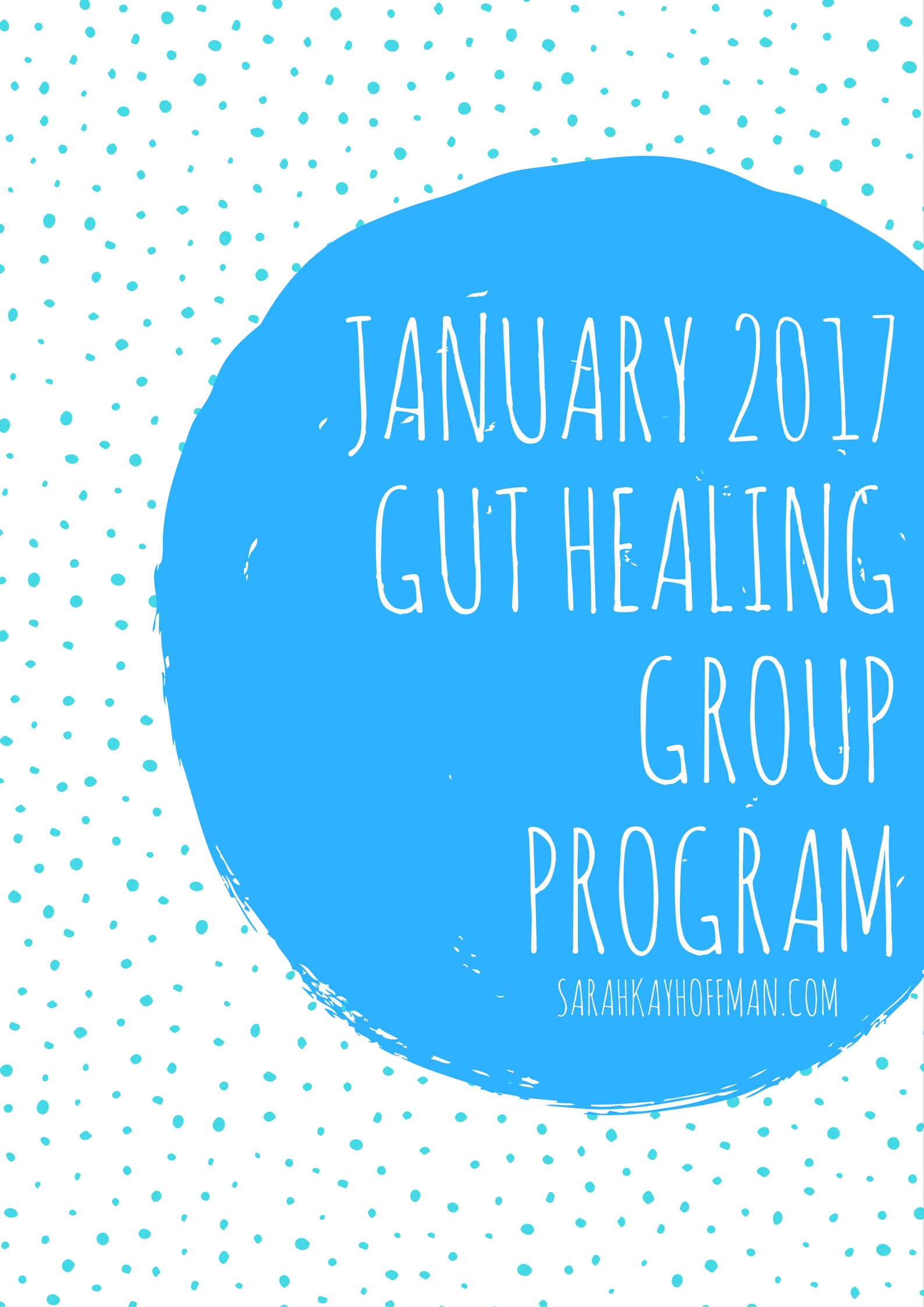 January 2017 Gut Healing Group Program sarahkayhoffman.com