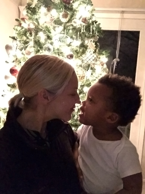 Merry Christmas sarahkayhoffman.com SKH and Isaiah