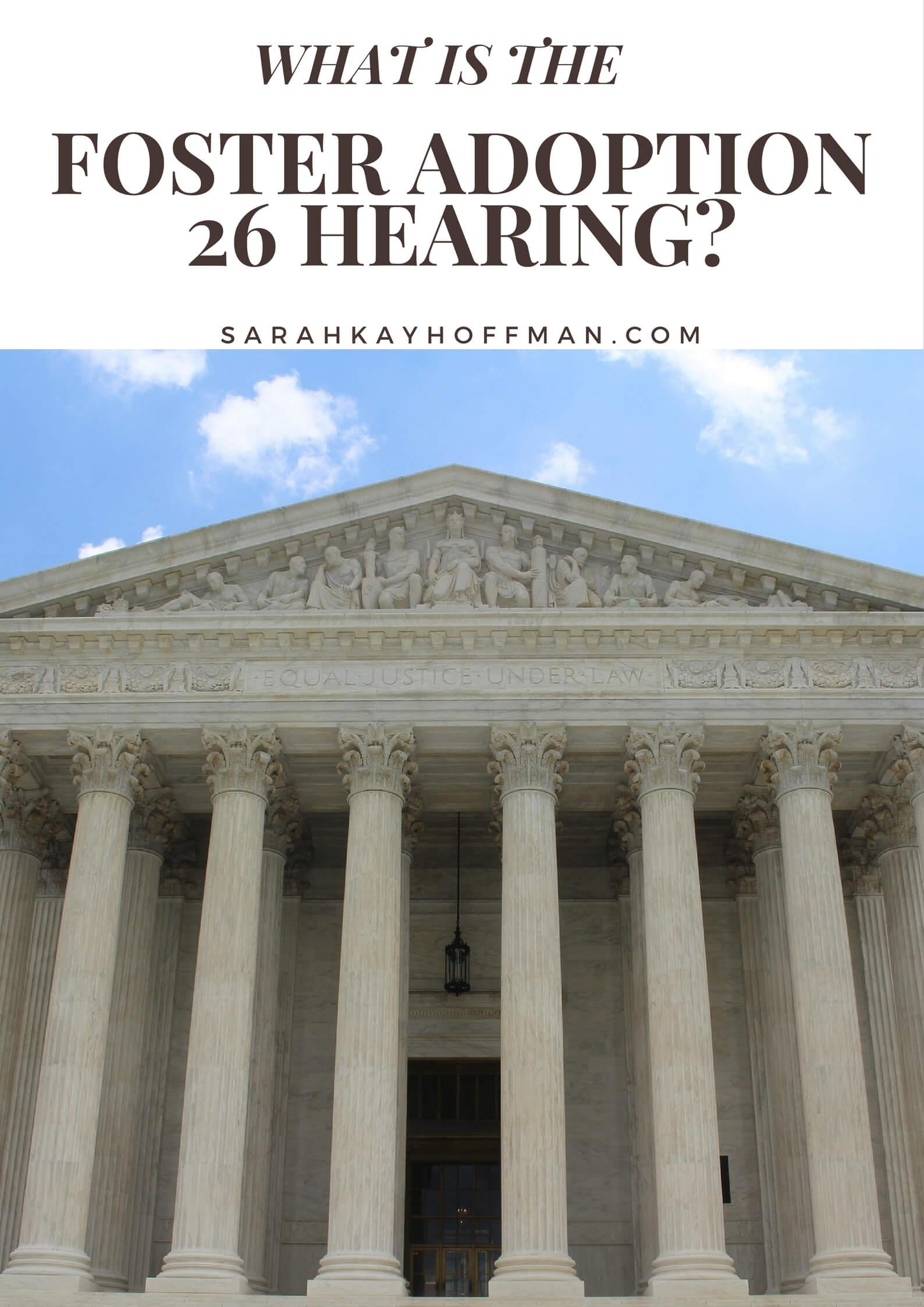 Foster Adoption 26 Hearing sarahkayhoffman.com