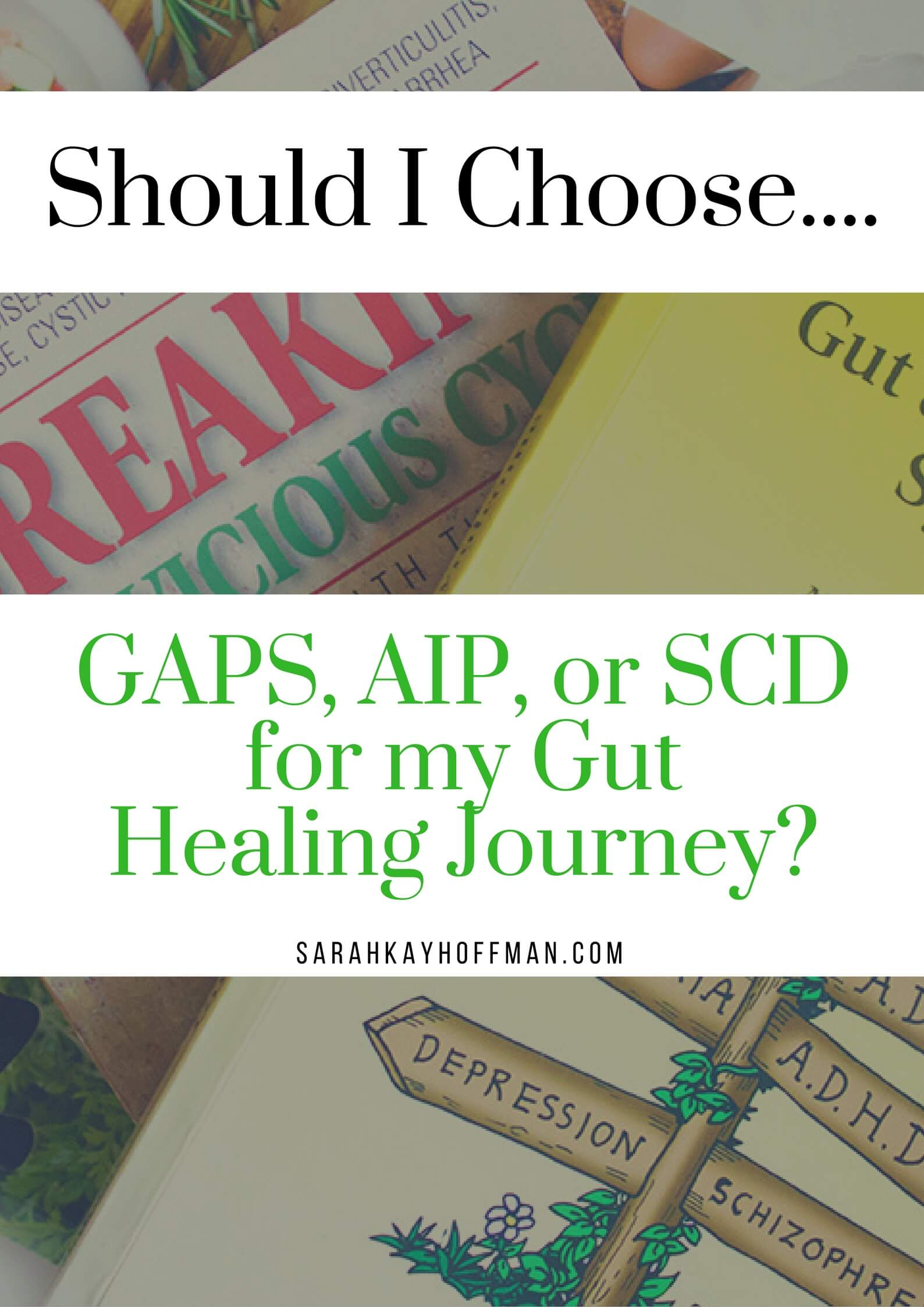 GAPS vs AIP vs SCD sarahkayhoffman.com Which to choose for gut healing?