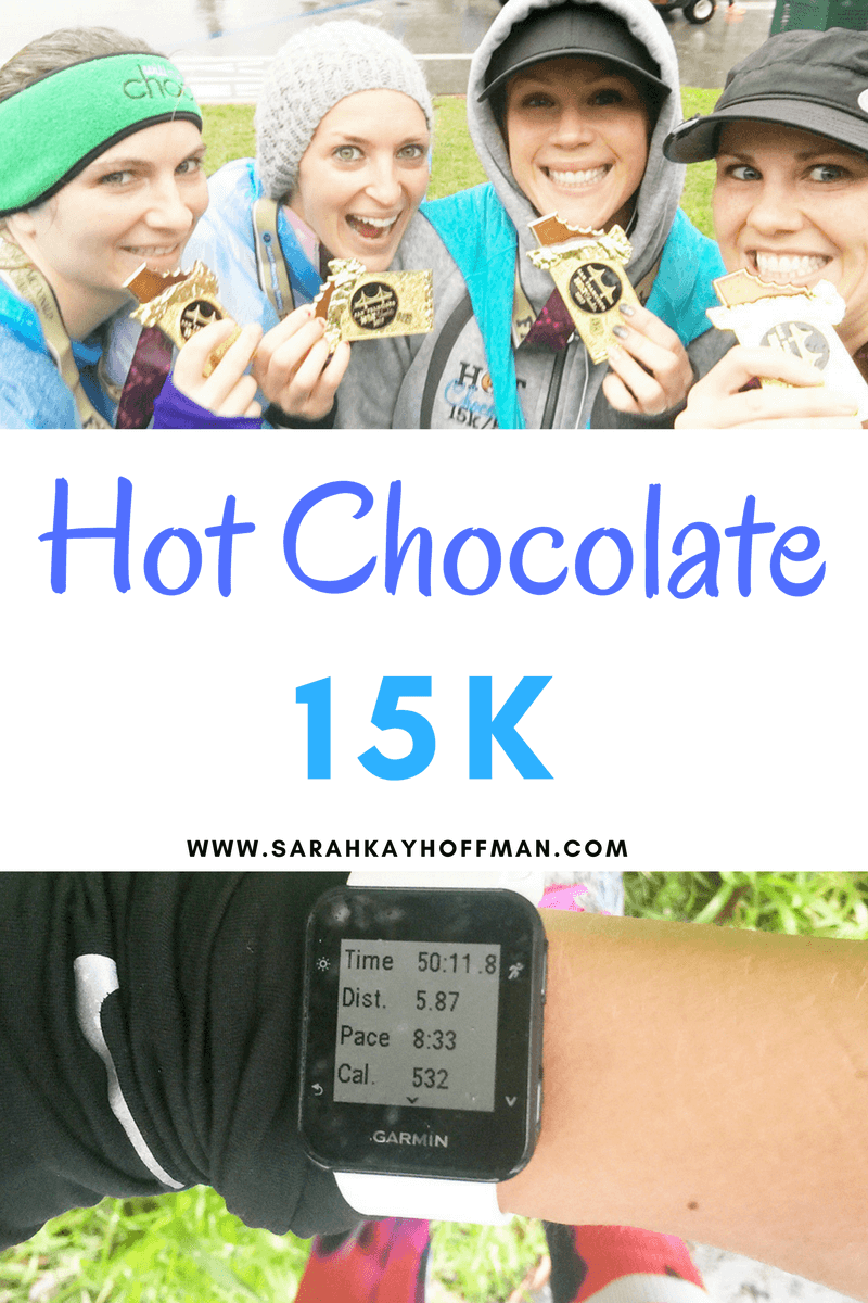 Hot Chocolate 15K sarahkayhoffman.com