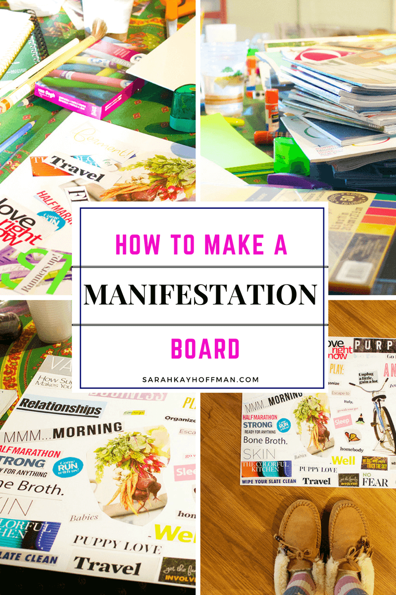 How to Make a Manifestation Board sarahkayhoffman.com