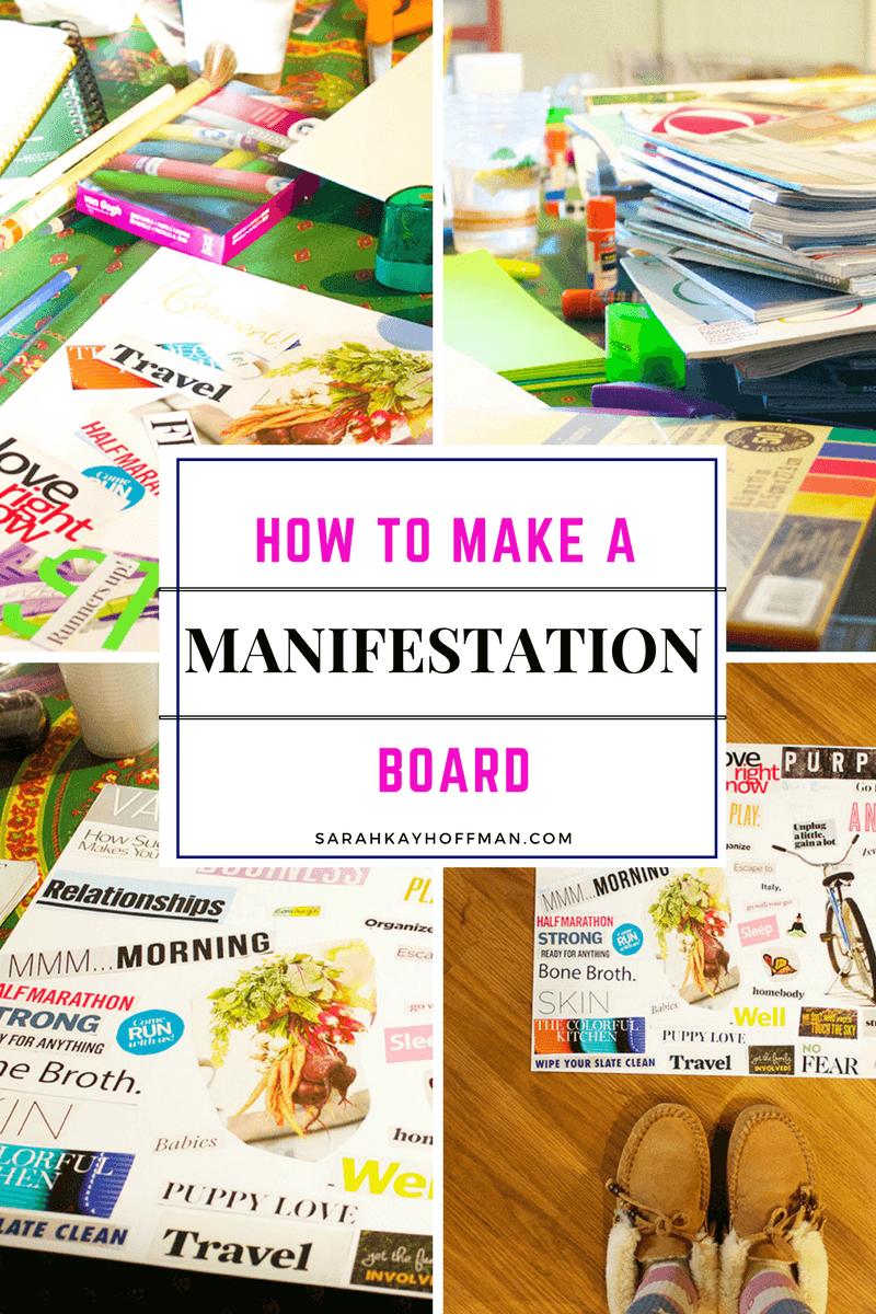 How to Make a Manifestation Board sarahkayhoffman.com