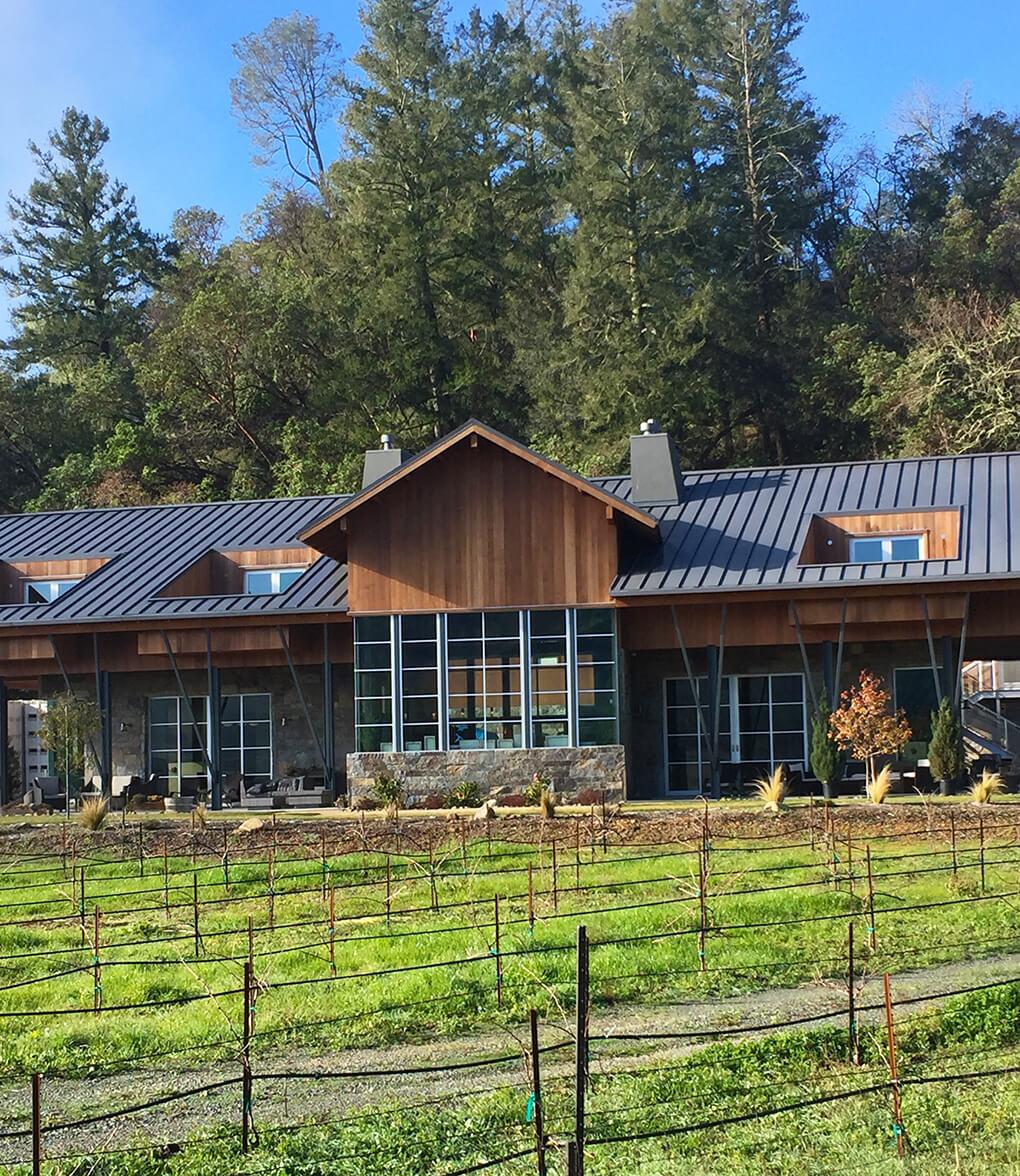 Mayacamas Ranch Retreat sarahkayhoffman.com Brian Arden Winery Calistoga, CA