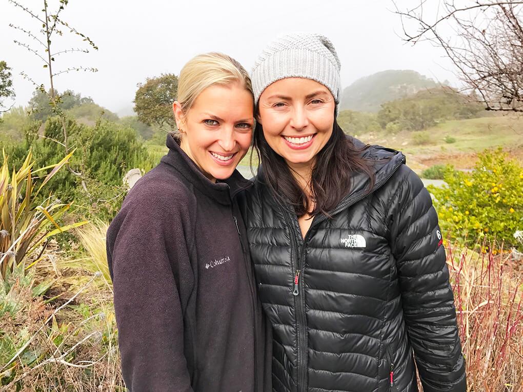 Mayacamas Ranch Retreat sarahkayhoffman.com Megan and SKH