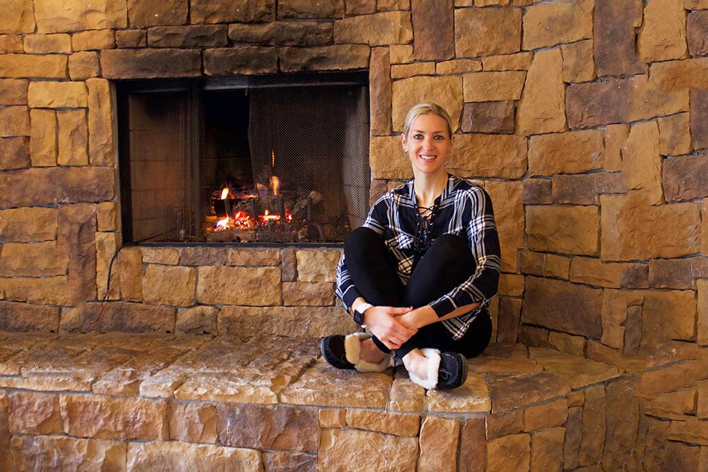 Mayacamas Ranch Retreat sarahkayhoffman.com SKH Fireplace