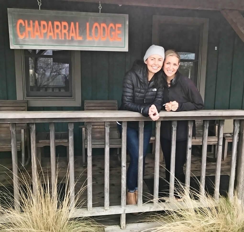 Mayacamas Ranch Retreat sarahkayhoffman.com SKH and Megan