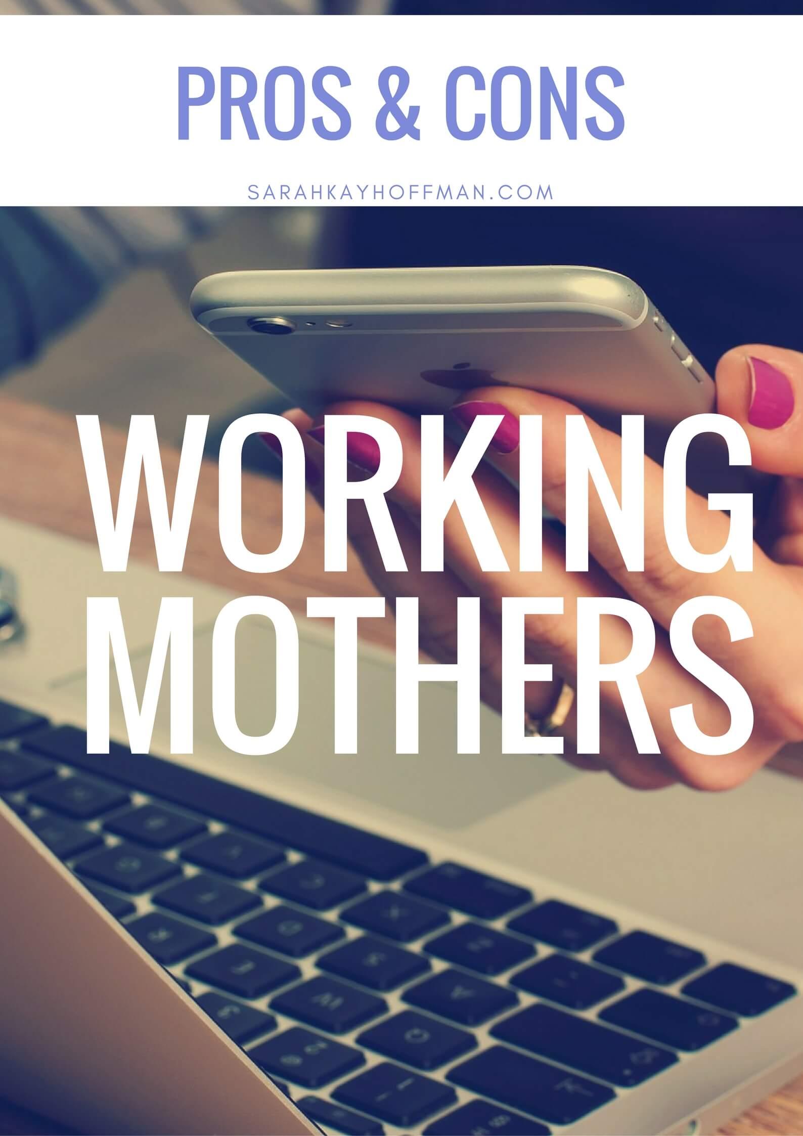 Working Mothers sarahkayhoffman.com