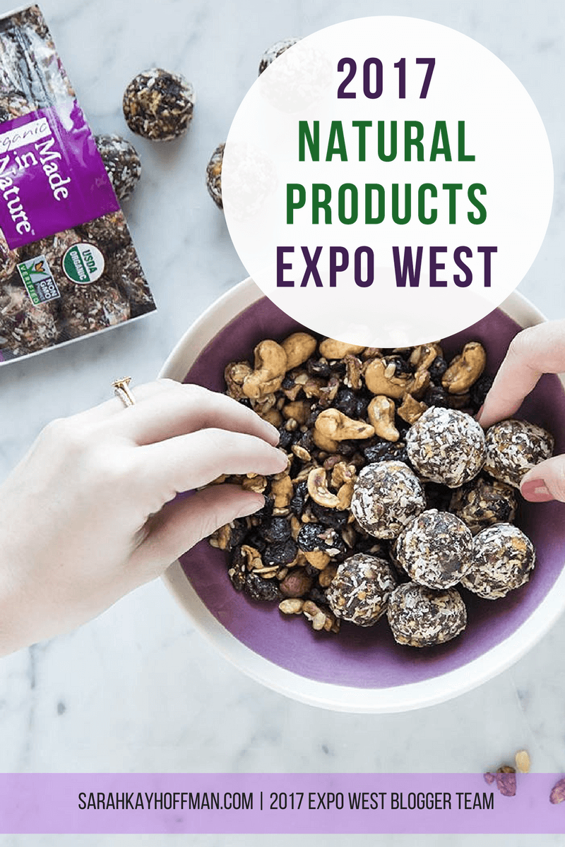 2017 Natural Products Expo West sarahkayhoffman.com