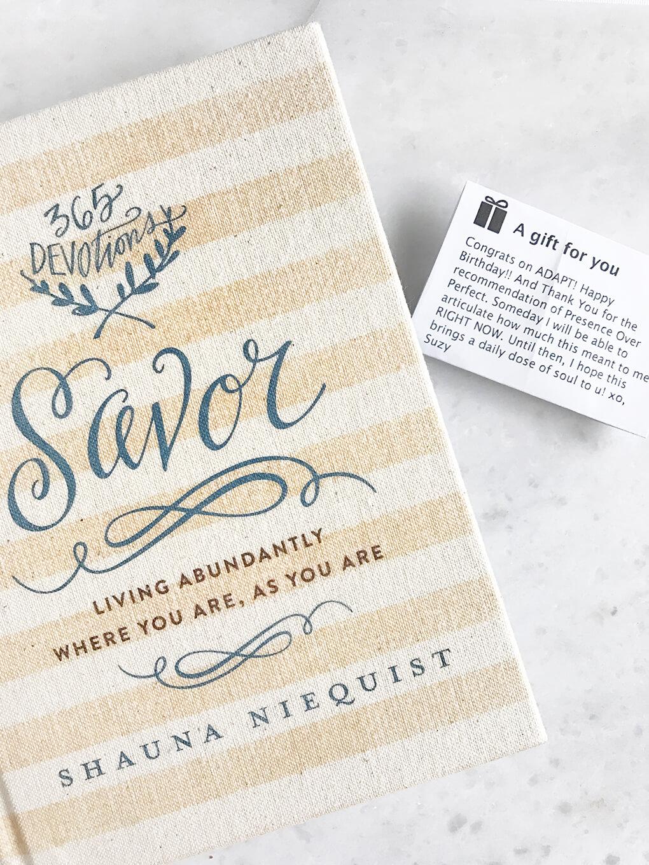 What Is a Daily Devotional? Savor Shauna Niequist sarahkayhoffman.com