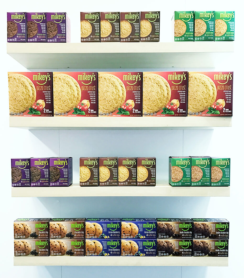 Top 75 Paleo Expo West Product Finds sarahkayhoffman.com Mikey's English Muffins