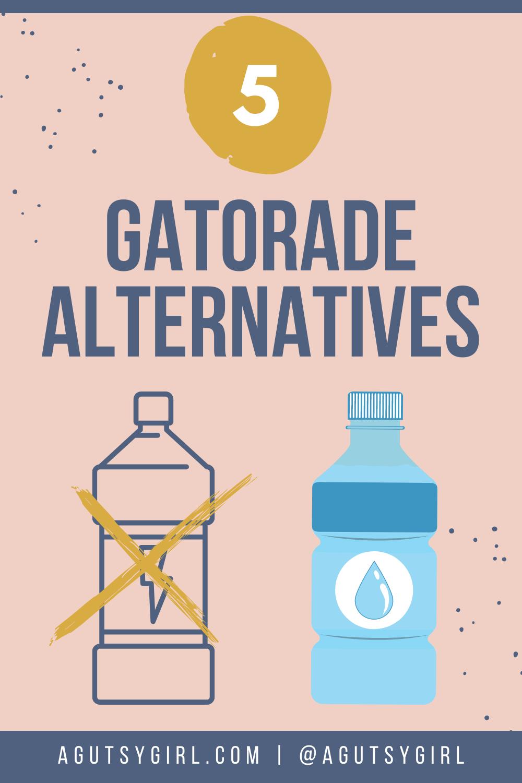 5 Gatorade Alternatives agutsygirl.com #hydration #coconutwater #water