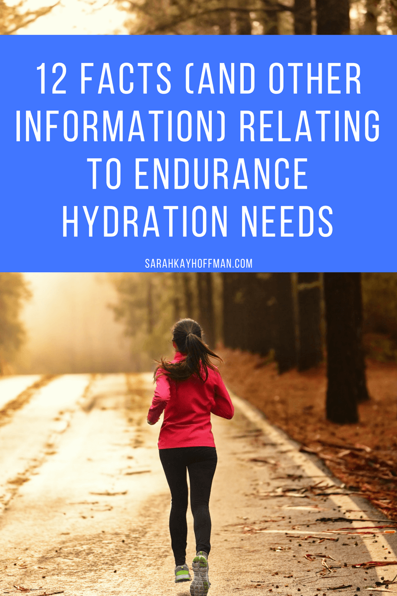 5 Gatorade Alternatives sarahkayhoffman.com 12 Facts (and Other Information) Relating to Endurance Hydration Needs