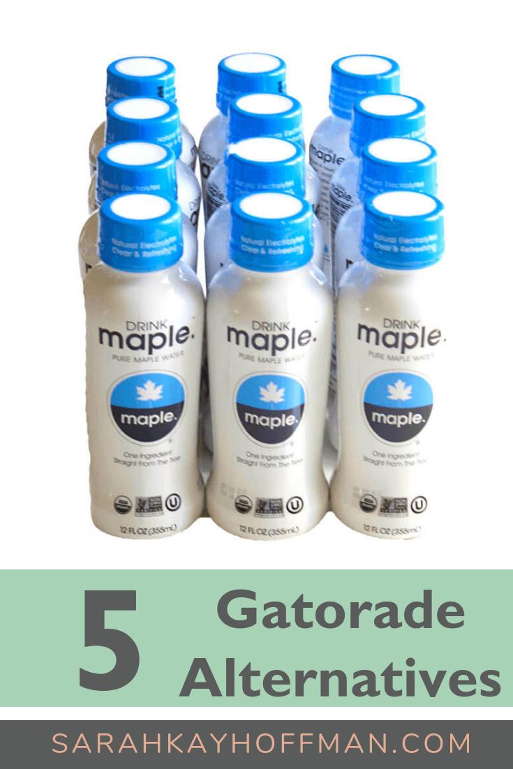 5 Gatorade Alternatives www.sarahkayhoffman.com #hydration #healthyliving #runner #fitness