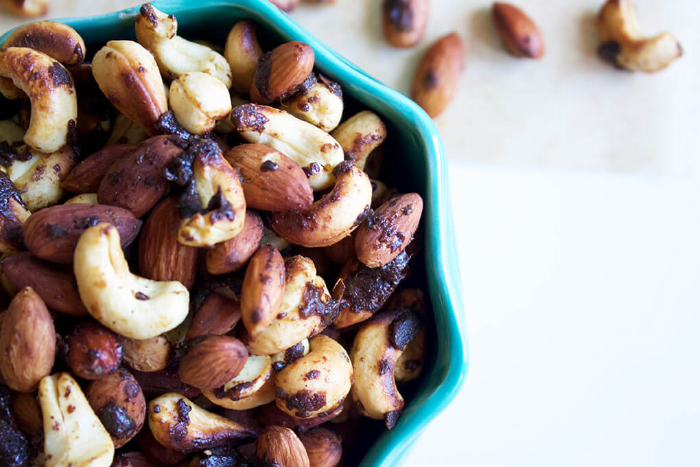 Recipe Roundup Sarah Kay Hoffman Real Food sarahkayhoffman.com Spice Wok Tossed Nuts