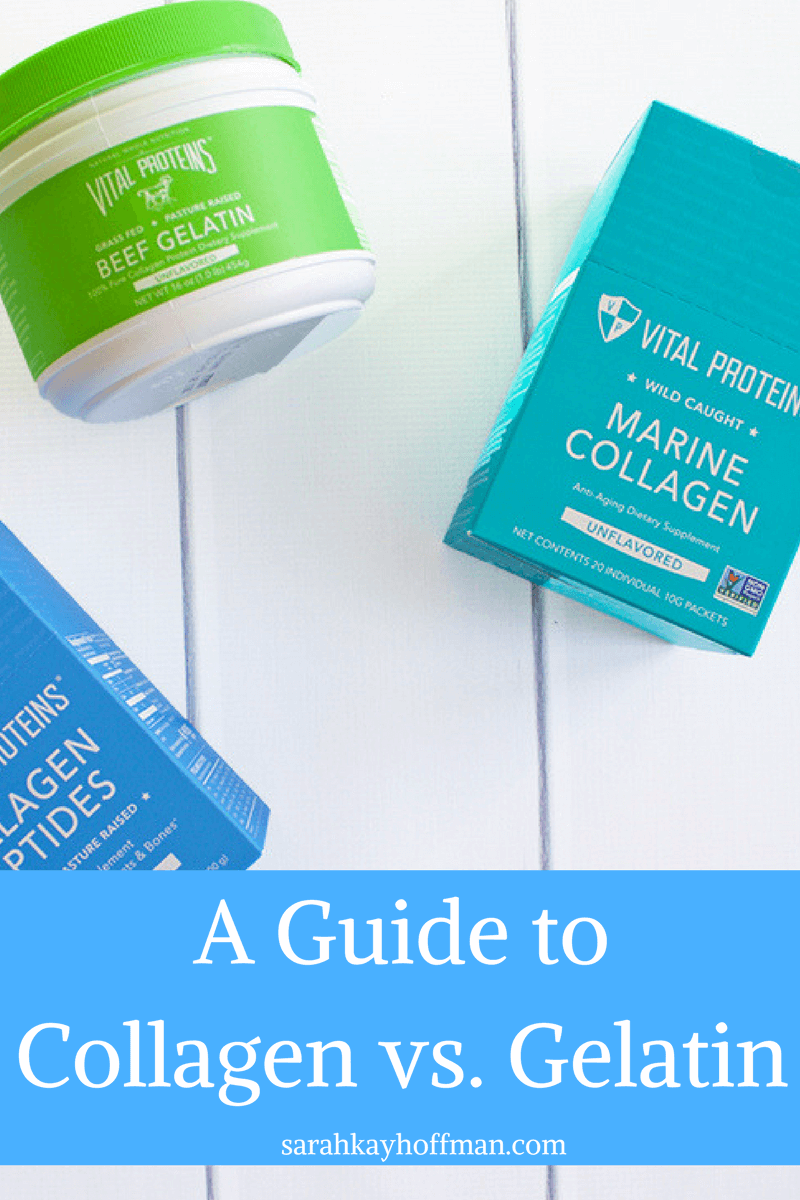 A Guide to Collagen vs Gelatin sarahkayhoffman.com A Gutsy Girl Gut Healing