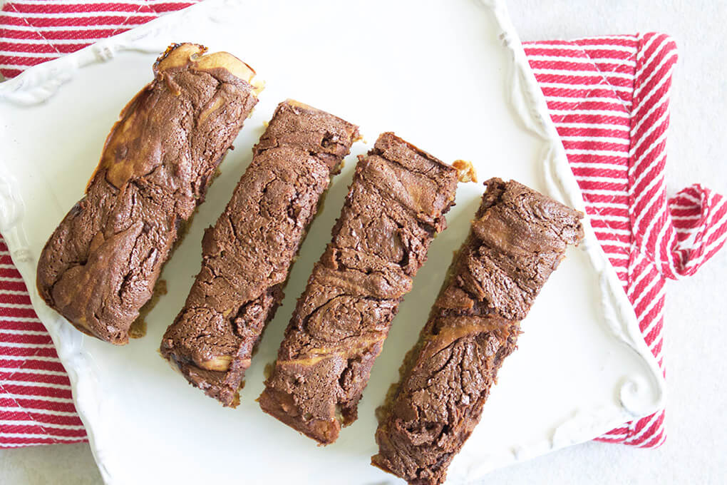 Gluten Free Recipe Roundup 2 sarahkayhoffman.com Chocolate Swirl Banana Bread Organic Recipes