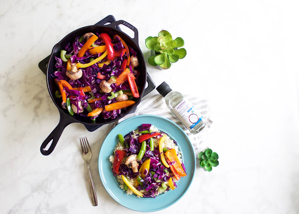 Gluten Free Recipe Roundup Two sarahkayhoffman.com Colorful Vegan Stir Fry Nutiva Recipes Organic Kitchen