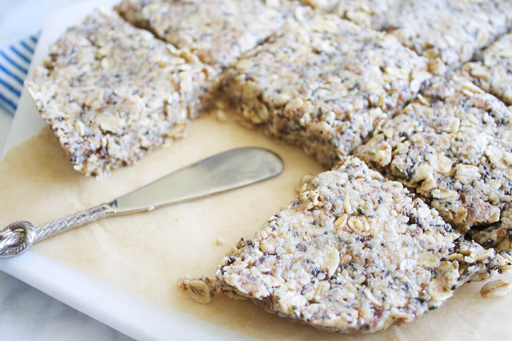 Gluten Free Recipe Roundup Two sarahkayhoffman.com No Bake Chewy Protein Bars Nutiva Organic Kitchen Recipes