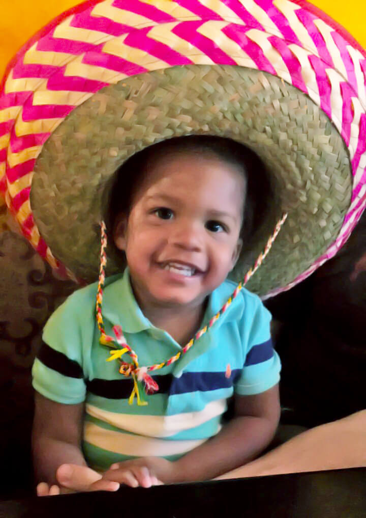 Happy Birthday, Isaiah {You are Two} Isaiah Mexican food