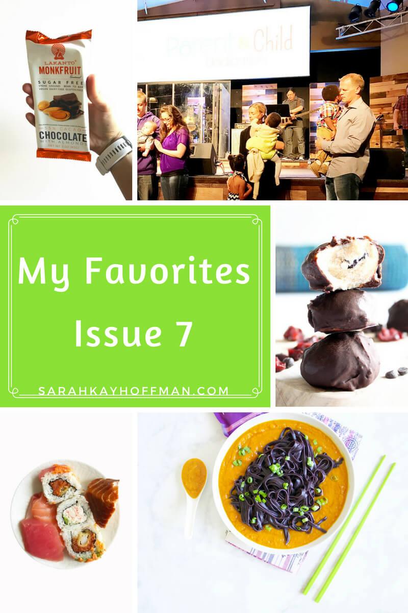 My Favorites Issue 7 sarahkayhoffman.com Sarah Kay Hoffman