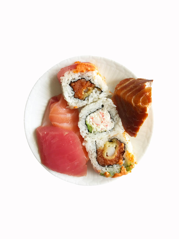 My Favorites Issue 7 sarahkayhoffman.com Sushi