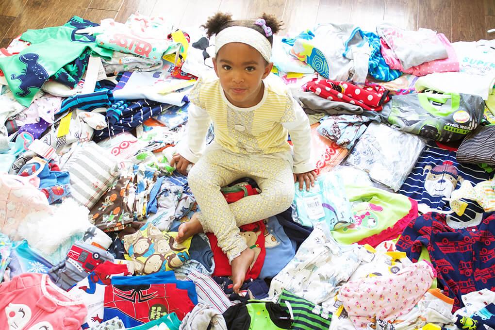 Blue Dye Test sarahkayhoffman.com Pajama Rama Jamas Fostercare