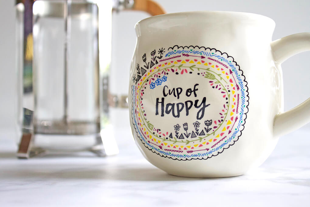 My Favorites Issue 9 sarahkayhoffman.com Cup of Happy Papyrus