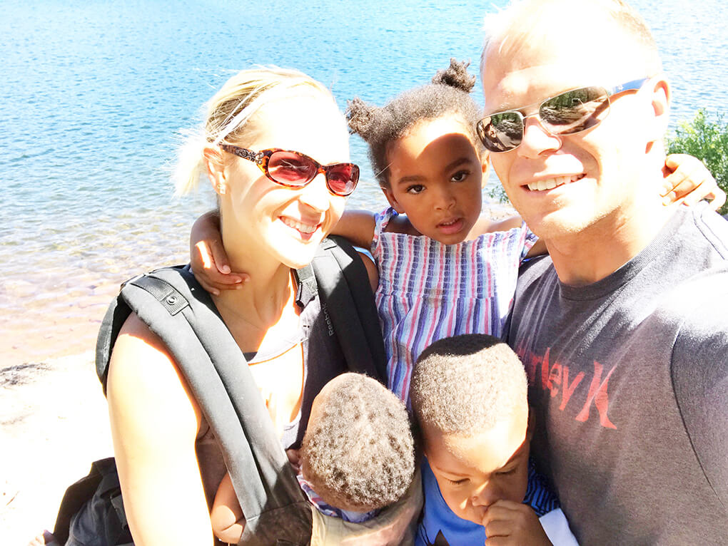 We Can Never Get These Moments Back sarahkayhoffman.com SKH, Ryan, Samarah, Isaiah, Amiya Mount Shasta Lake 2017