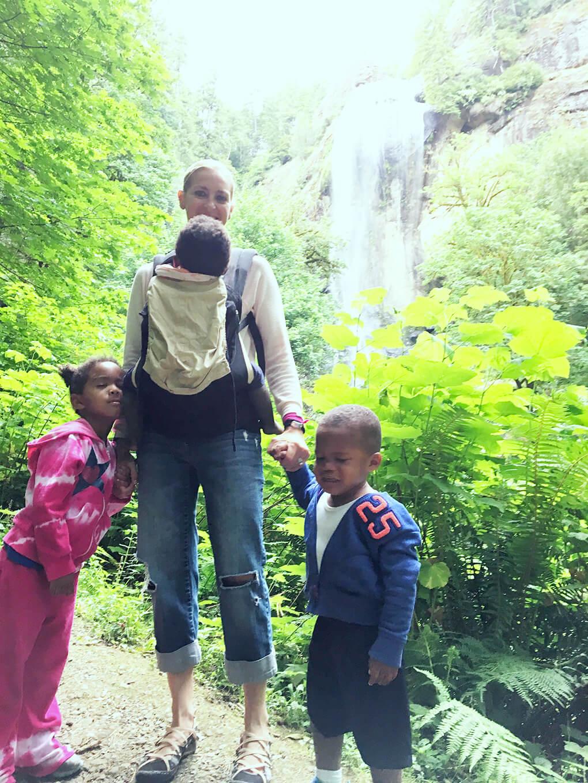 Half Year Mark sarahkayhoffman.com Samarah, Isaiah, Amiya, SKH Redwoods