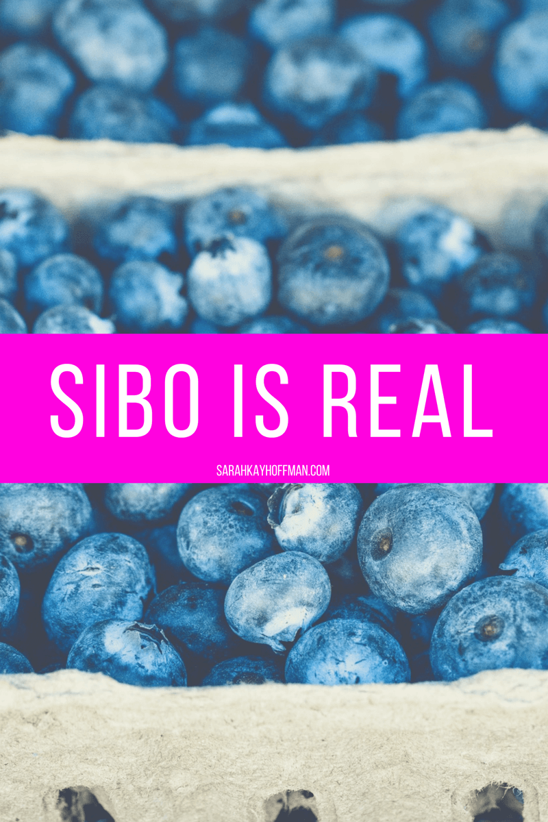 SIBO is Real sarahkayhoffman.com Blueberries IBS