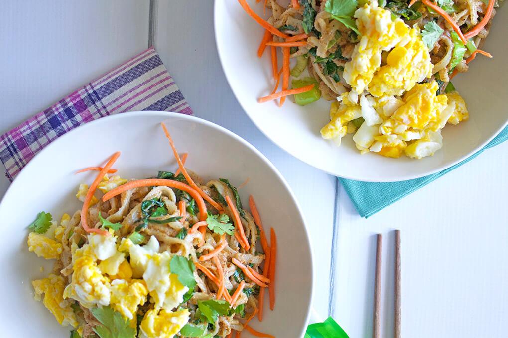 Veggie Pad Thai sarahkayhoffman.com Dairy Free