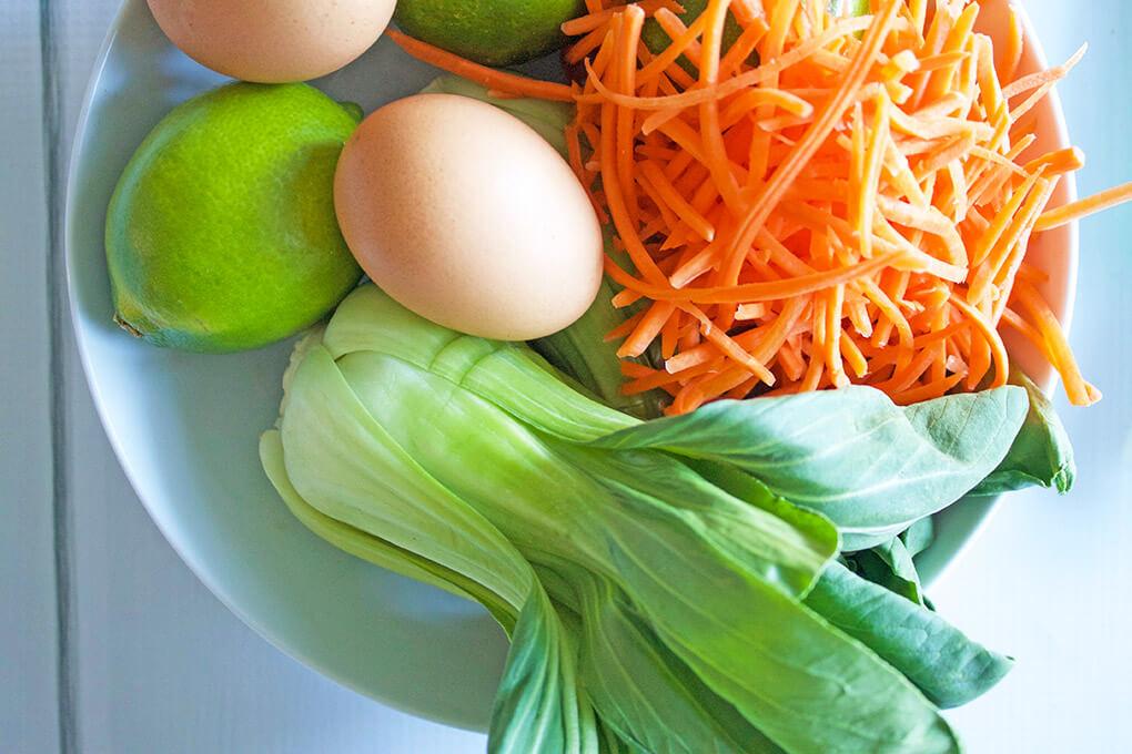 Veggie Pad Thai sarahkayhoffman.com Ingredients